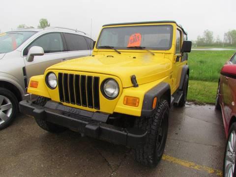 2002 Jeep Wrangler for sale in Lafayette, IN