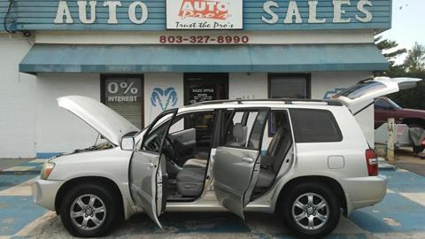 2005 Toyota Highlander for sale in Rock Hill, SC