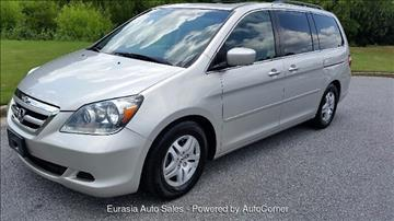 2007 Honda Odyssey for sale in Alpharetta, GA