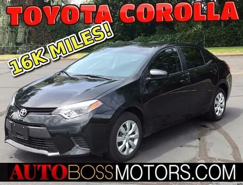 2016 Toyota Corolla for sale in Woodscross, UT