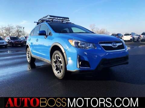 2017 Subaru Crosstrek for sale at Auto Boss in Woodscross UT