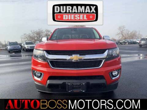 2017 Chevrolet Colorado for sale at Auto Boss in Woodscross UT