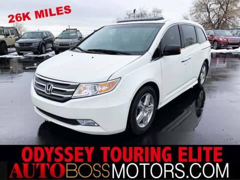 2013 Honda Odyssey for sale at Auto Boss in Woodscross UT