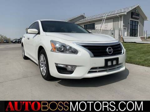 2014 Nissan Altima for sale at Auto Boss in Woodscross UT