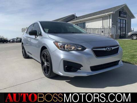 2017 Subaru Impreza for sale at Auto Boss in Woodscross UT
