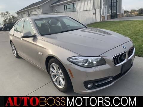 2015 BMW 5 Series for sale at Auto Boss in Woodscross UT