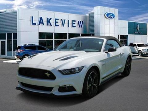 2017 Ford Mustang for sale in Battle Creek MI