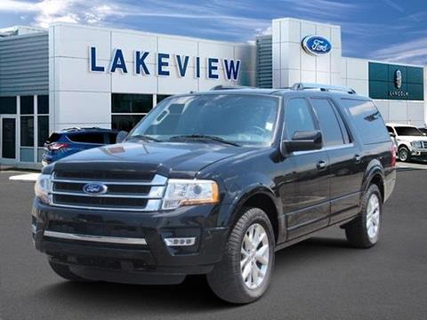 2017 Ford Expedition EL for sale in Battle Creek MI