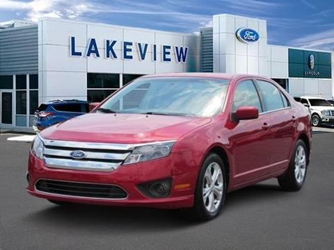 2012 Ford Fusion for sale in Battle Creek MI