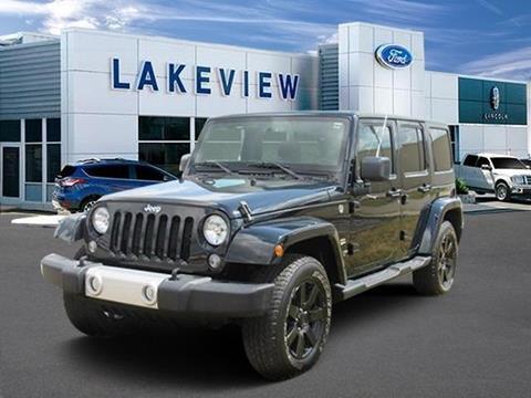 2014 Jeep Wrangler Unlimited for sale in Battle Creek, MI