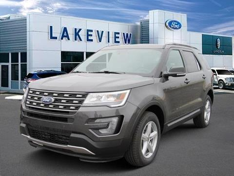 2017 Ford Explorer for sale in Battle Creek MI