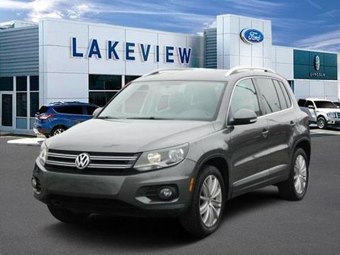 2012 Volkswagen Tiguan for sale in Battle Creek, MI