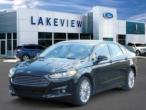 2015 Ford Fusion for sale in Battle Creek MI