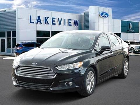 2016 Ford Fusion for sale in Battle Creek, MI