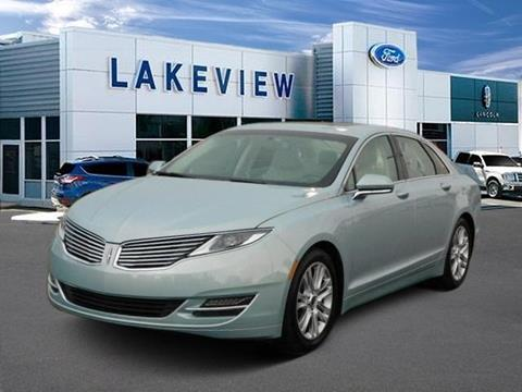2014 Lincoln MKZ Hybrid for sale in Battle Creek, MI