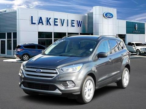 2018 Ford Escape for sale in Battle Creek MI