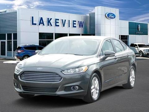 2016 Ford Fusion for sale in Battle Creek MI