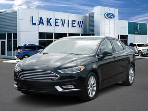 2017 Ford Fusion for sale in Battle Creek, MI