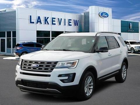 2017 Ford Explorer for sale in Battle Creek, MI