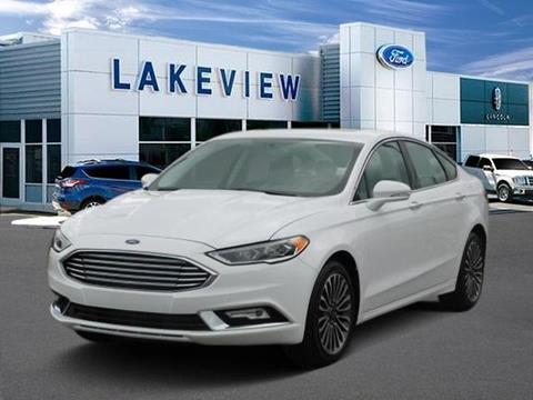 2017 Ford Fusion for sale in Battle Creek MI
