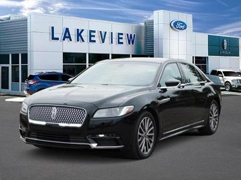 2017 Lincoln Continental for sale in Battle Creek, MI