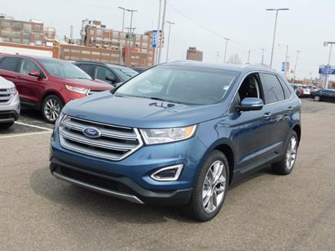 Ford edge for sale in michigan for Thompson motors lapeer mi