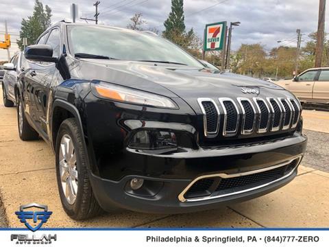 2017 Jeep Cherokee for sale in Philadelphia, PA