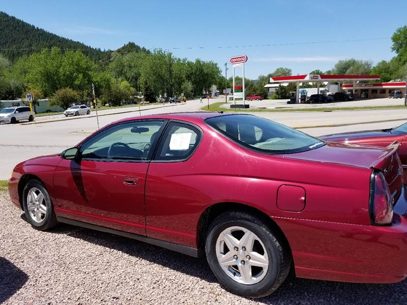 Good 2005 Chevrolet Monte Carlo LS