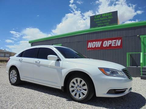 2013 Chrysler 200 for sale in Salina, UT