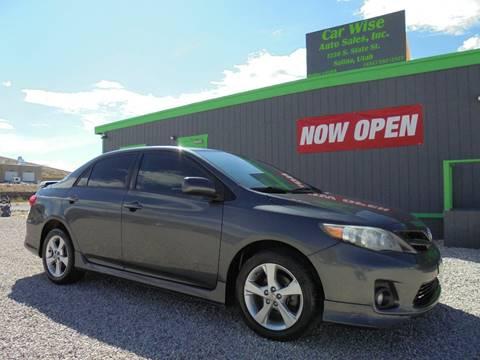2012 Toyota Corolla for sale in Salina, UT