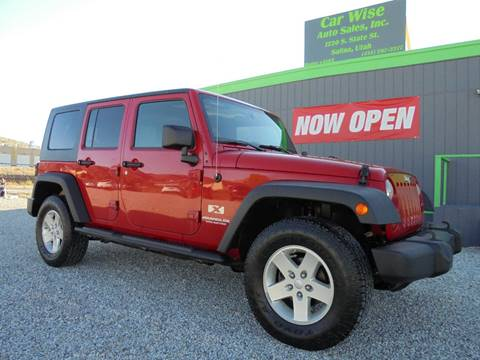 2008 Jeep Wrangler Unlimited for sale in Salina, UT