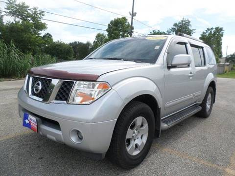 2007 Nissan Pathfinder For Sale Houston Tx