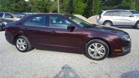 2012 Ford Fusion for sale in Mooreville, MS