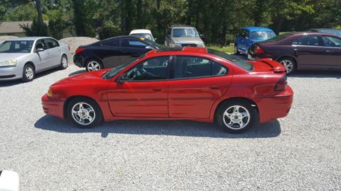2004 Pontiac Grand Am for sale in Mooreville, MS