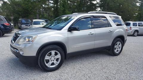 2007 GMC Acadia for sale in Mooreville, MS
