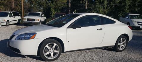 2009 Pontiac G6 for sale in Mooreville, MS