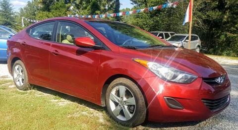 2013 Hyundai Elantra for sale in Mooreville, MS