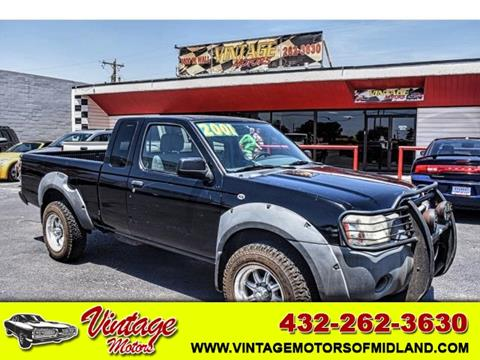 2001 Nissan Frontier For Sale In Midland, TX