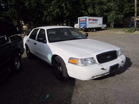 2008 Ford Crown Victoria for sale in Gresham, OR
