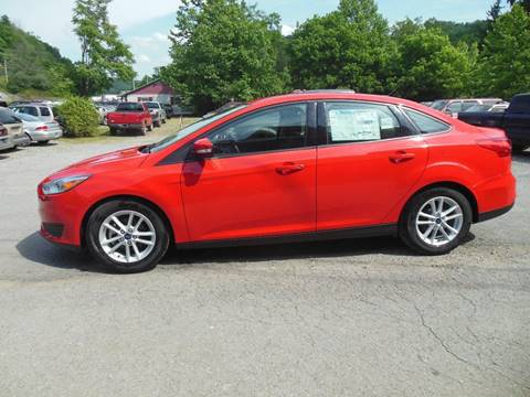 2015 Ford Focus for sale at WESTON FORD  INC in Weston WV