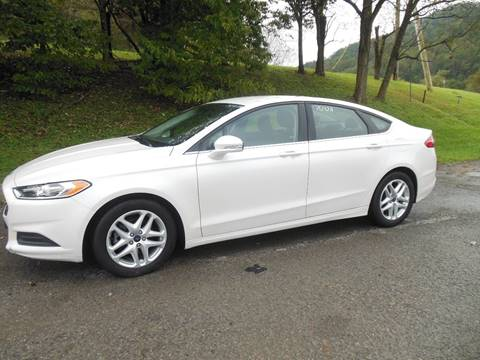 2015 Ford Fusion for sale at WESTON FORD  INC in Weston WV