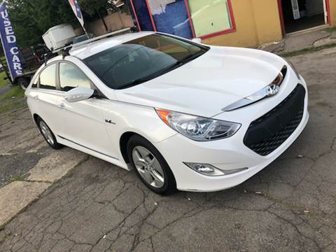 2011 Hyundai Sonata Hybrid for sale at Albi's Auto Service and Sales in Archbald PA
