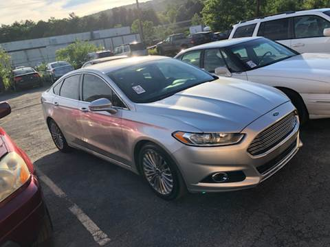 2013 Ford Fusion for sale at Albi's Auto Service and Sales in Archbald PA