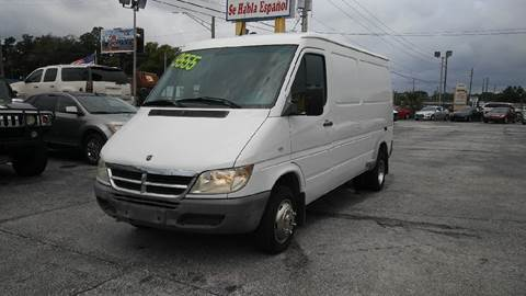 2005 Dodge Sprinter Cargo for sale in Jacksonville, FL