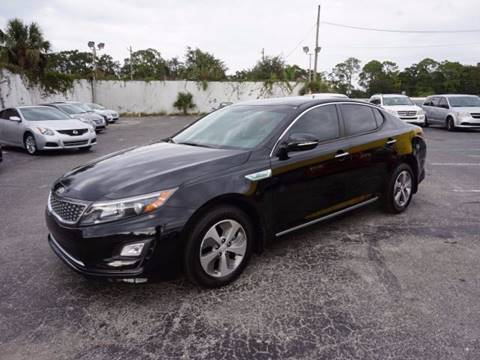 2014 Kia Optima Hybrid for sale in Jacksonville, FL