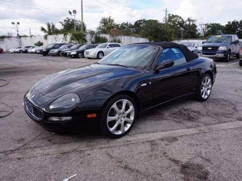 2004 Maserati Spyder for sale in Jacksonville, FL