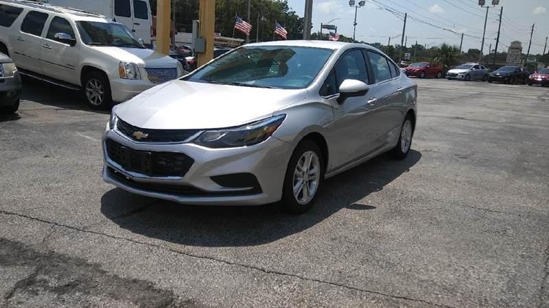 Used Cars Jacksonville >> 2017 Chevrolet Cruze Lt Auto In Jacksonville Fl Castle Used Cars