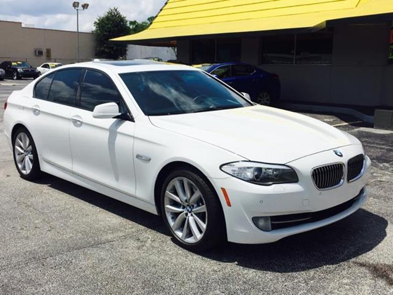 2012 BMW 5 Series 535i In Jacksonville FL - Castle Used Cars