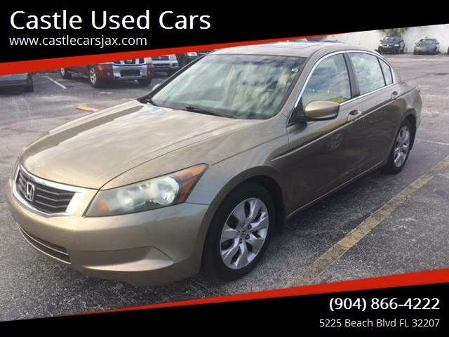 2008 Honda Accord For Sale At Castle Used Cars In Jacksonville FL