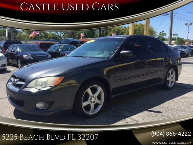 2008 Subaru Legacy 25i Limited In Jacksonville Fl Castle Used Cars